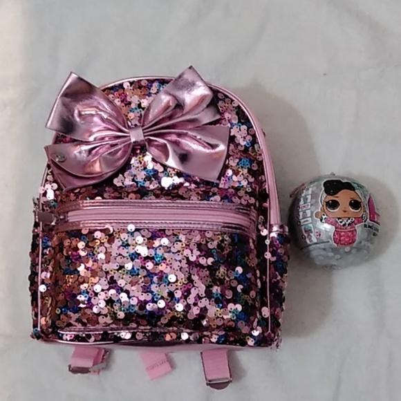 413bd4db023 jojo siwa Other - New Jojo siwa backpack and lol black bling series